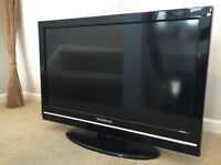 Techwood 32 Inch LCD HD TV + FREEVIEW + NEW REMOTE. BARGAIN. NO OFFERS