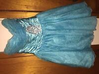 Size small blue dress
