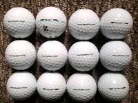 12 Titleist VELOCITY golf balls in excellent condition