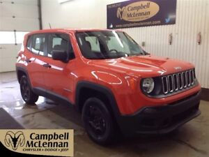 2015 Jeep Renegade Sport |4WD | 2.4L | Bluetooth