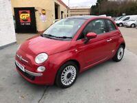 2010 FIAT 500 1.3 DIESEL MULTIJET LOUNGE £20 TAX