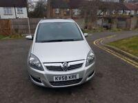2008 Vauxhall Zafira 1.9 CDTi 16v SRi 5dr Automatic @07445775115