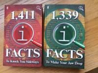 2 hardback fact books