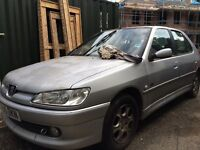Peugeot 306 meridian 1.8 running but needs alternator replacing