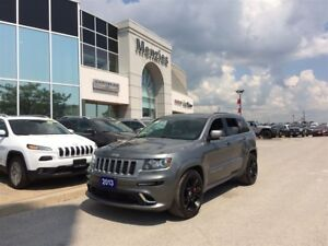 2013 Jeep Grand Cherokee SRT8 4x4, Navi, ONE OWNER, Clean Carpro