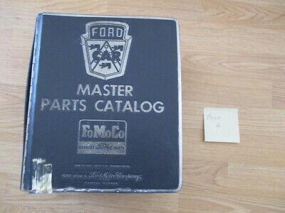 Genuine 1960-1967 Ford Car Dealership Master Parts Catalog FoMoCo Book A