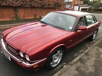 Jaguar XJR 3980cc Petrol Supercharged Automatic 4 door saloon M Reg 17/03/1995 Red