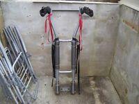 Halfords three cycle bike rack