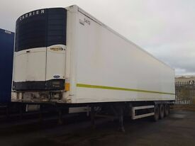 2005 gray and addams 13.6 twin evap fridge trailer ex m&s with standby