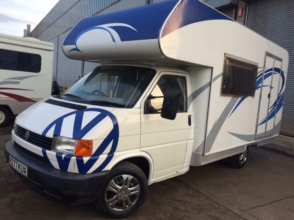 Volkswagen T4 T5 Camper Coachbuilt With Kitchen Conversion