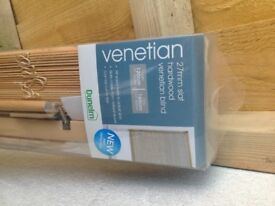 NEW dunelm mill venetian blind
