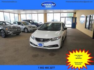 2014 Honda Civic DX $104 B/W oac