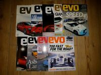EVO Car Magazine Job Lot (9 issues) incl. Car Of The Year 2007