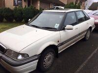 1994 Rover 416 SLI auto, 178,000 miles on clock, needs new head gasket, few days MOT left.