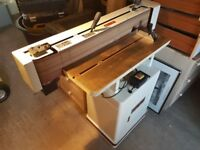 Axminster Tools - Jet OES-80 CS Oscillating Edge Sander / Scroll Saw / 1hp Extractor / Bandsaw