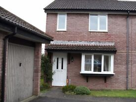 TROWBRIDGE - 3 bed house to let in great location. CH, UPVC windows, garden and garage. £795pcm