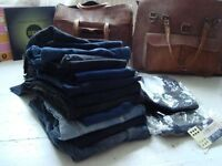 15 pairs of NEW Jeans blue and black size S size 10 job lot bundle