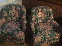 Great chairs but need some repair
