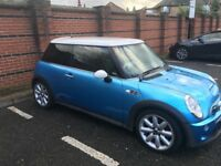 Mini Cooper S, Low mileage, Leather seats, excellent condition