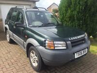 Land Rover freelander 1.8 xei 1999 year 4wd 5 door mot December