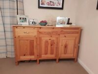 Hand Made Pine Sideboard