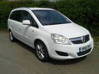 2010 Vauxhall zafira elite cdti (50k from new)