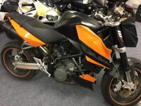 KTM 990 Superduke 2007 low miles with FSH