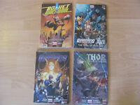 New Marvel Comics Hardcovers for sale including Thor, Guardians of the Galaxy & Rocket Racoon...