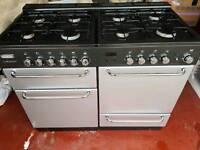 Flavel Gas Range 8 Burner Double Oven Cooker