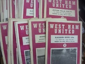 OLD FOOTBALL PROGRAMMES MEMORABILIA WANTED PRE 70s- WHOLE COLLECTIONS PURCHASED, DISTANCE NO OBJECT