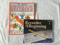 Learning the Recorder books