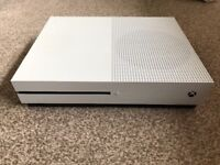Xbox One S 500GB Console White (boxed)