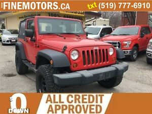 2009 JEEP WRANGLER X Edition *Never Get Stuc