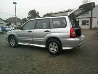 04 Subaru Forester 2.0Awd4x45 door Moted Sept 17 Full history ( can be viewed inside anytime)