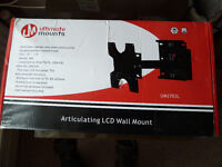Articulating LCD Wall Mount for 16 - 40 inch TV