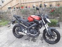 Yamaha MT125 ABS 15 PLATE