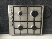 Brand new lamona 3208 integrated electric oven and gas hob with chimney extractor!