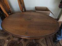 Oval Breakfast Table
