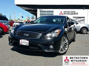 2013 Infiniti G37X Sport Coupe; Local, No accidents, NAVI