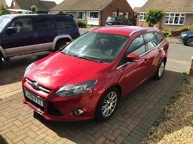 Ford Focus estate titanium