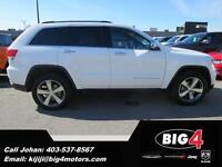 2015 Jeep Grand Cherokee Limited, Fully Loaded, Sunroof, Low KMS