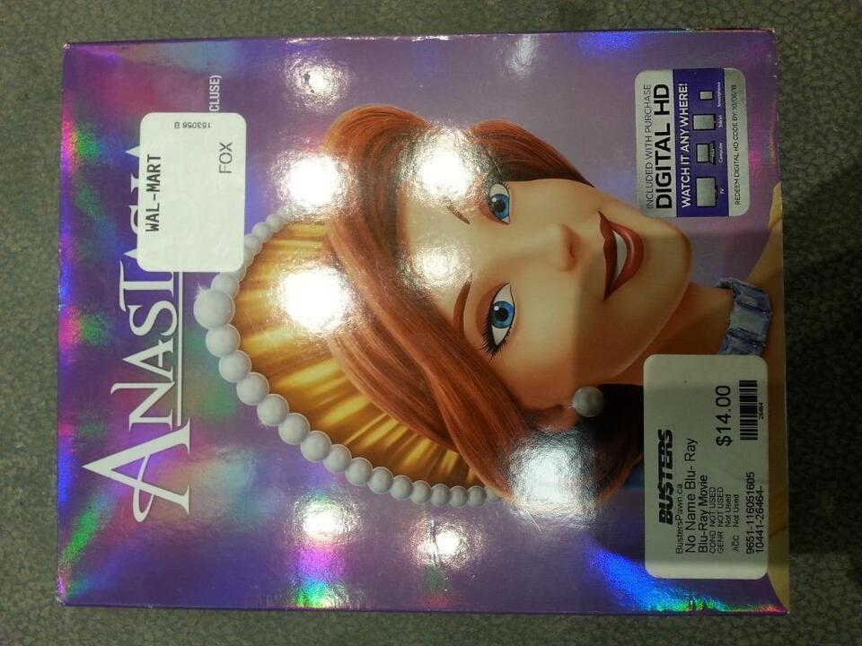 Anastasia - Disney DVD  We Sell Used DVDs and Blu Rays  (#26464)