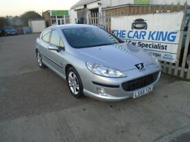 PEUGEOT 407 2.0 HDi Zenith 4dr (silver) 2006