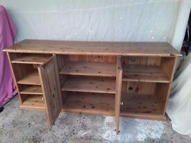 Earsham pine lounge sideboard tv storage unit