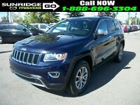 2014 Jeep Grand Cherokee Limited/Sunroof/Leather/Remote start