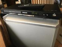 Phillips hdmi DVD player with remote