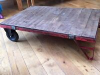 Vintage Large Industrial Pallet Coffee Table