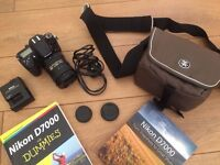 Nikon D7000 with 18-200 VR II lens + more