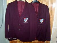 Foyle Collage boys blazers