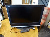 """Panasonic Viera 26"""" flat screen digital tv"""